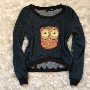Miss Me Owl Sweater